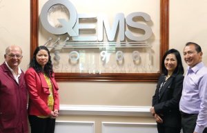 (Left to right) Quality Manager Pj Marshall, Executive Vice President Hannah Pham, Nancy Nguyen and CEO Phuong Nguyen